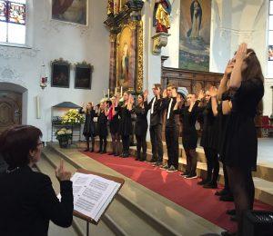 Doppelchorzkonzert Juventus Singers und Kirchenchor St. Stephan